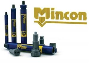 Mincon range down hold hammers and bits