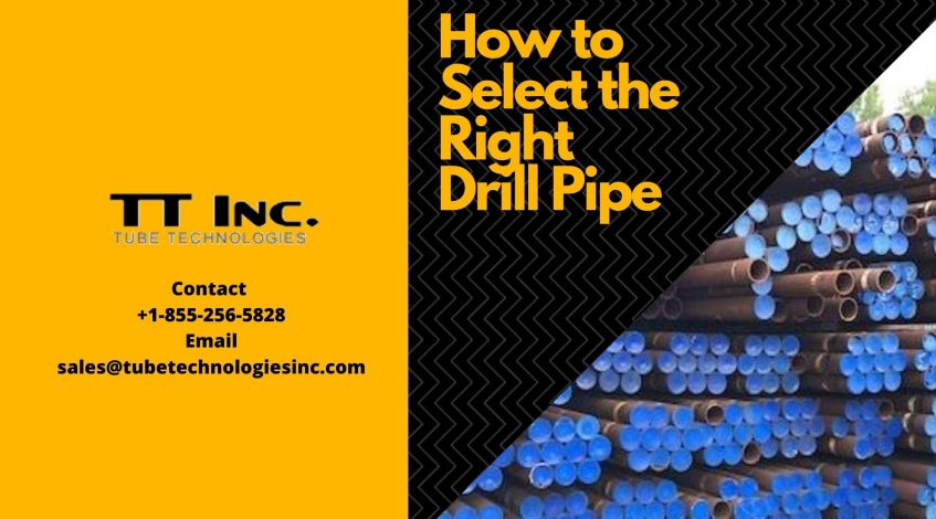 How to Select the Right Drill Pipe-min
