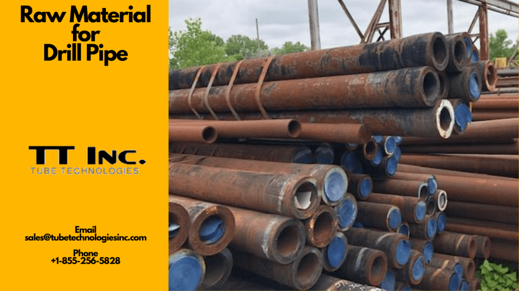 Raw Material for Drill Pipe 1 min
