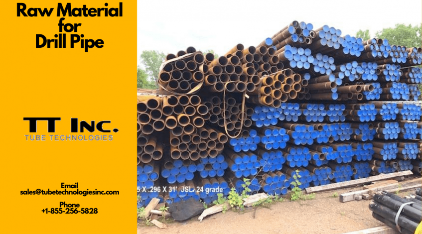 Raw Material for Drill Pipe 2 min