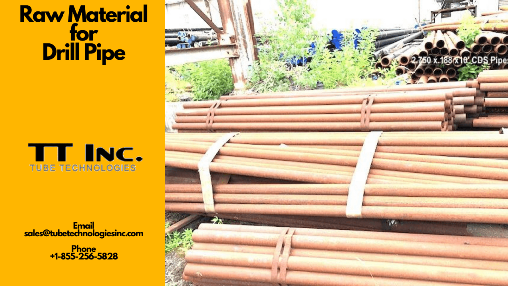 Raw Material for Drill Pipe 6 min